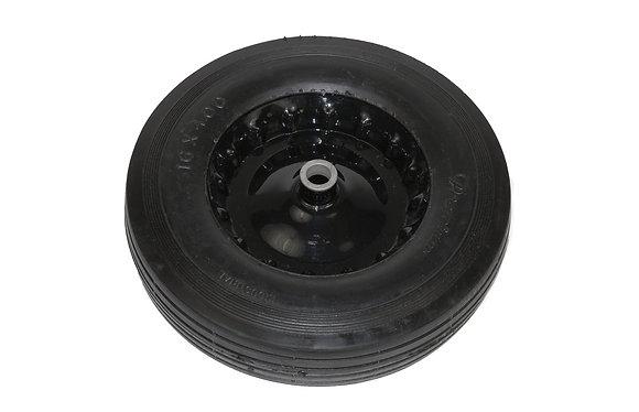 """14. 02350 Axle & 16"""" wheel set 6 cuft"""