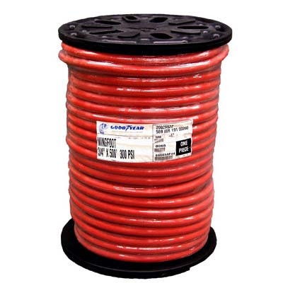 """HOSE, AIR, RED, NOMINAL 1/2"""" ID x 55/64"""" OD, WP 20"""