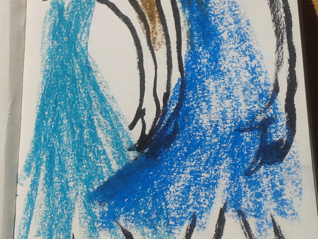 """""""les filles bleues"""""""