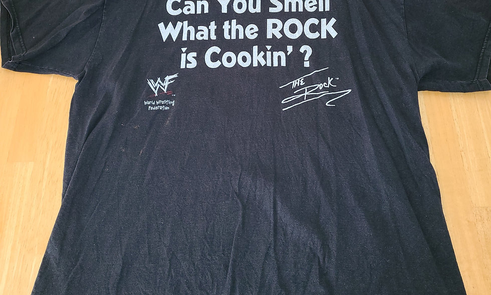 *Preowned  - The Rock (Can You Smell) T-Shirt Size XL