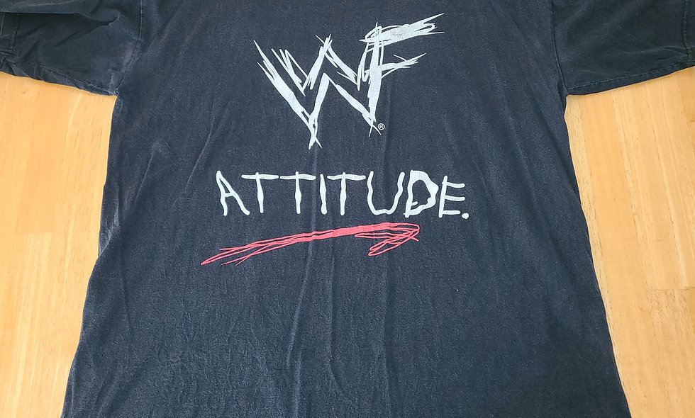 *Preowned  - WWF Attitude T-Shirt Size XL