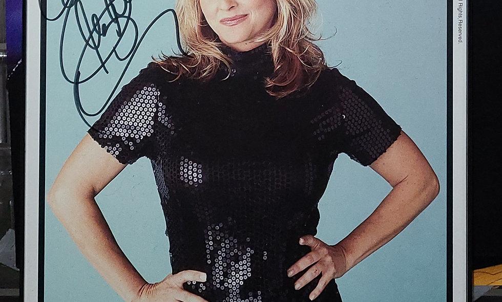 *Autographed - Elizabeth WCW PROMO - Wrestling