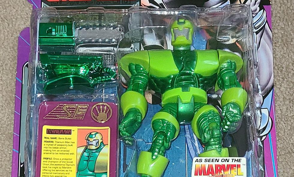 Marvel : Titanium Man : Iron Man : ToyBiz 1995