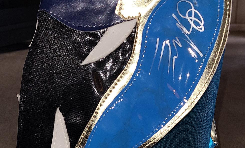 Ophidian - Autographed Lucha Mask  : Chikara Shop