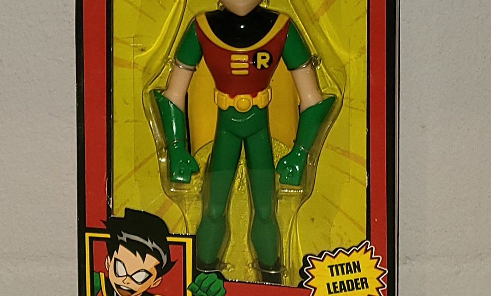 "Teen Titan - Robin - 10"" Figure - 2005 Bandai"