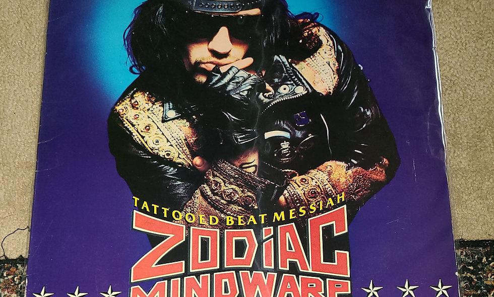 Zodiac Mindwarp & The Love Reaction : Tattooed Beat Messiah - Polygram / VG - G