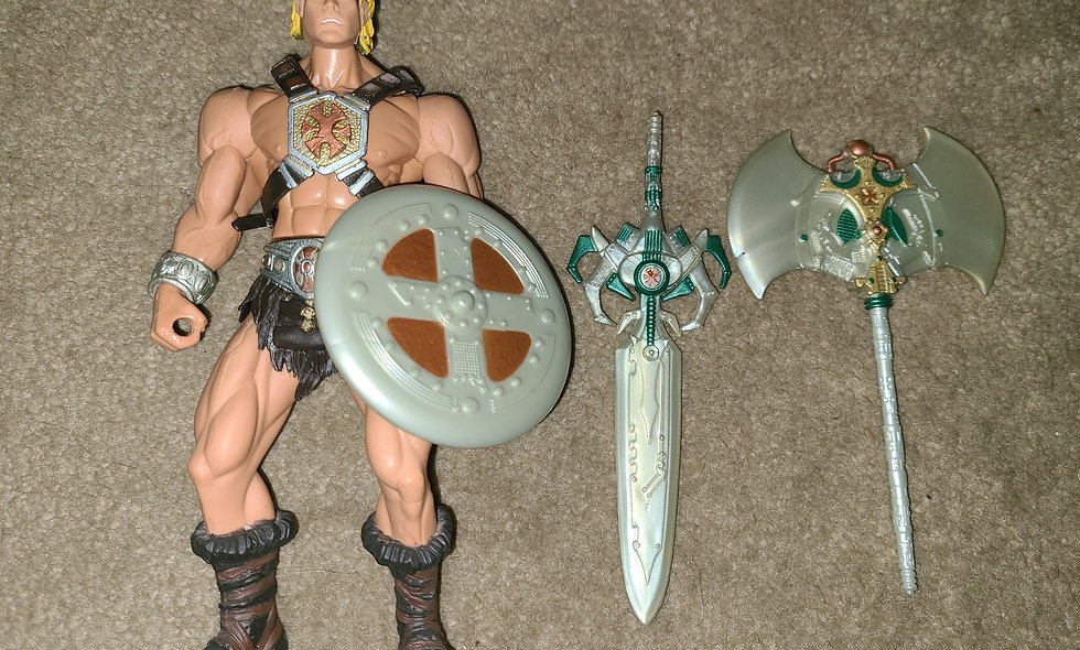He-Man : Masters Of The Universe : 2001 Mattel