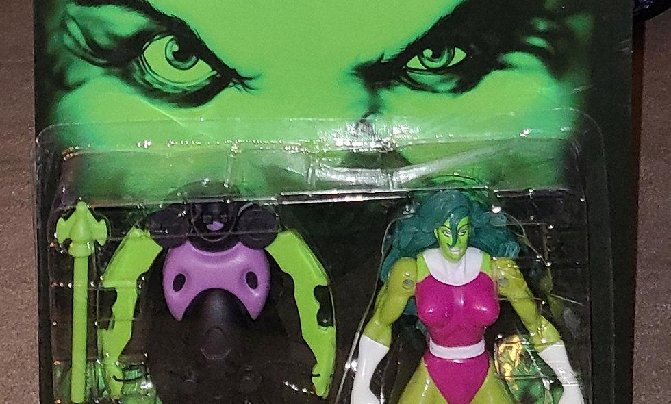 She Hulk - The Incredible Hulk - ToyBiz 1996
