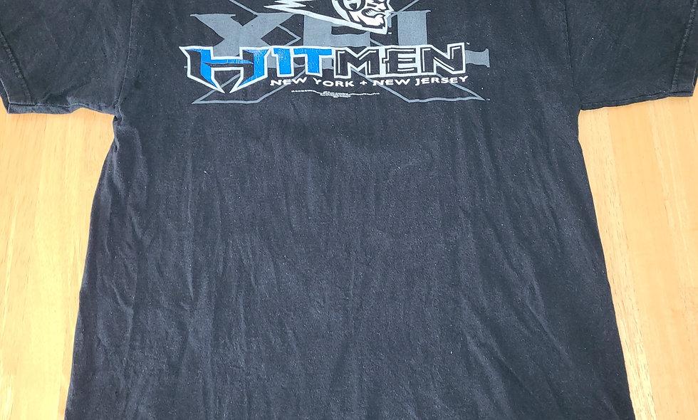 *Preowned  - XFL Hitmen T-Shirt Size L