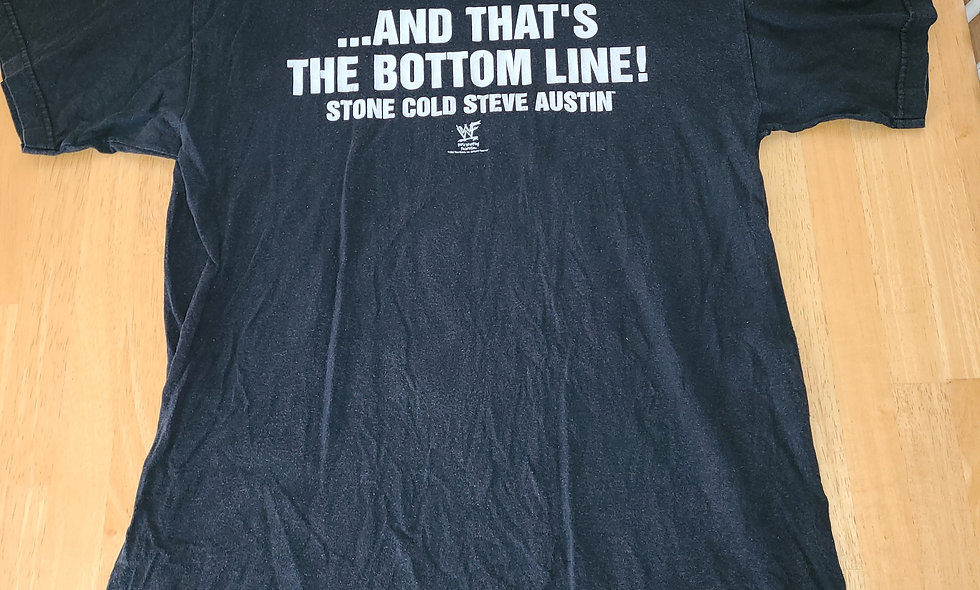 *Preowned  - Stone Cold Steve Austin (And Thats..) T-Shirt Size L