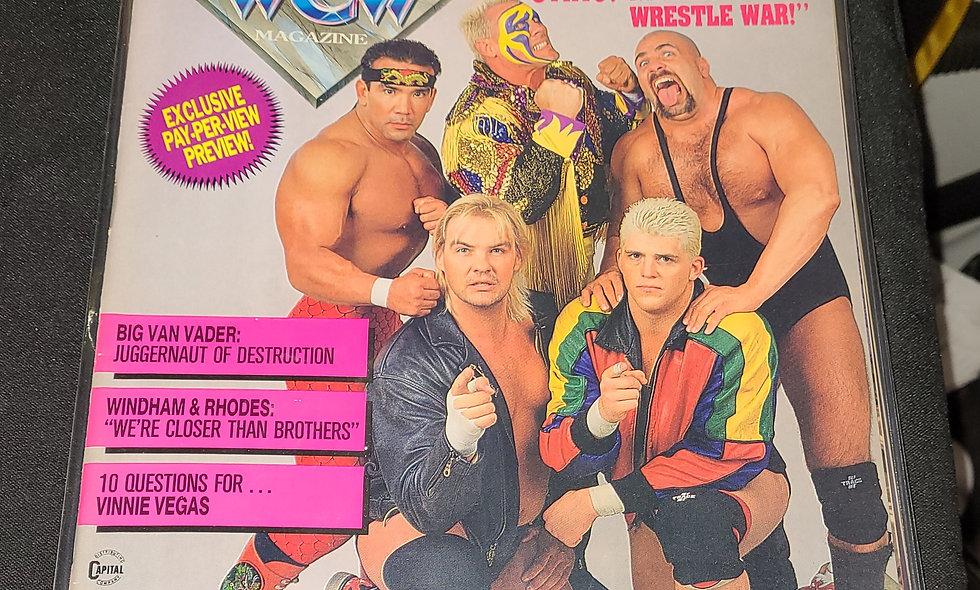 WCW Magazine  :  June 1992