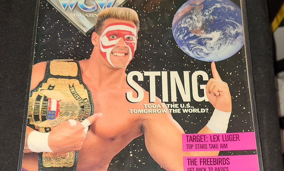 WCW Magazine  : January 1992