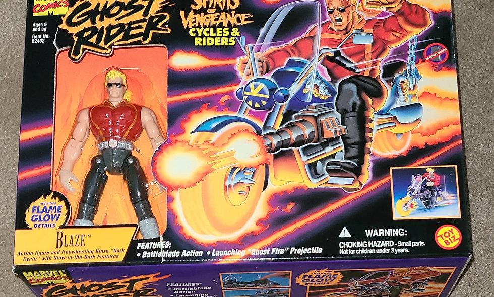 Marvel : Blaze : Ghost Rider - Spirits Of Vengeance : ToyBiz 1995