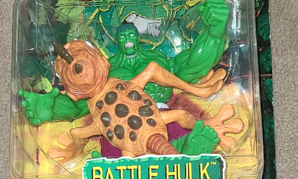 Marvel : Battle Hulk : Incredible Hulk Outcasts : ToyBiz 1997