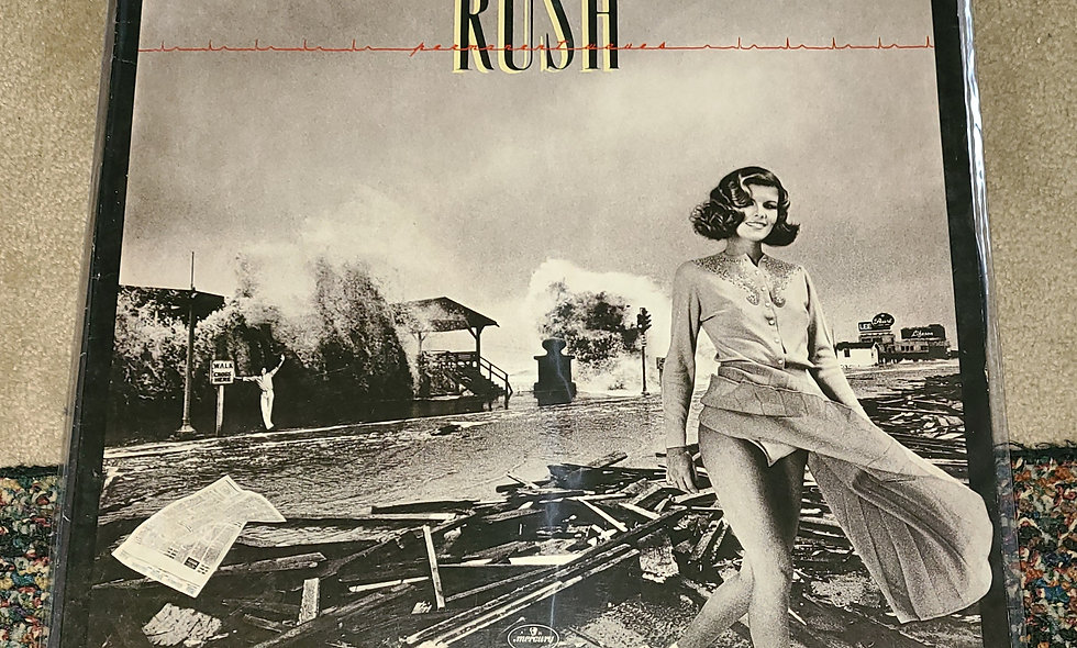 Rush : Permanent Waves - Polygram / 1980 / Poor / Rock
