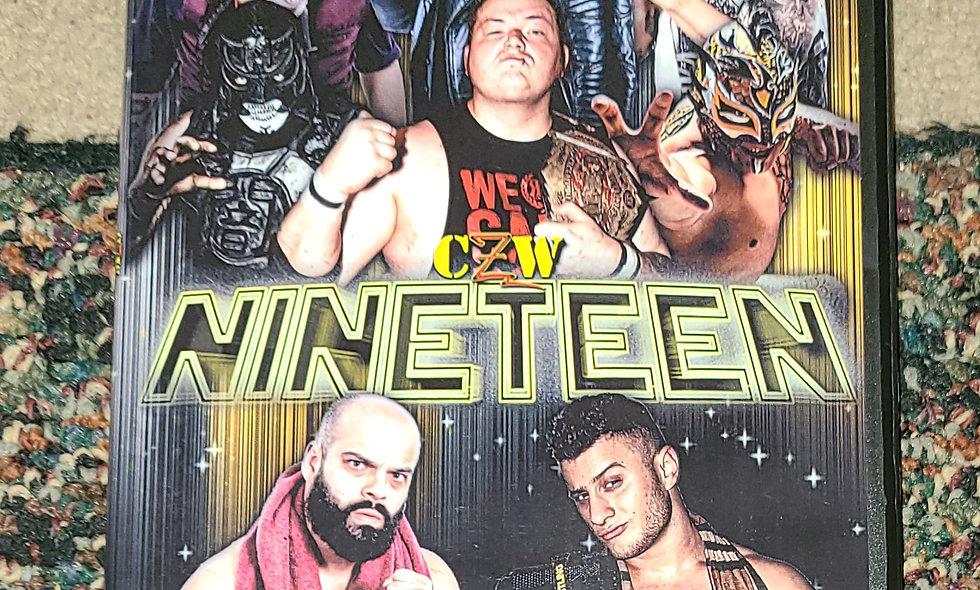 CZW - Nineteen : 2/10/18 - Wrestling Dvd