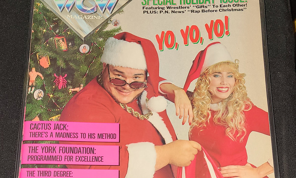 WCW Magazine  : February 1992