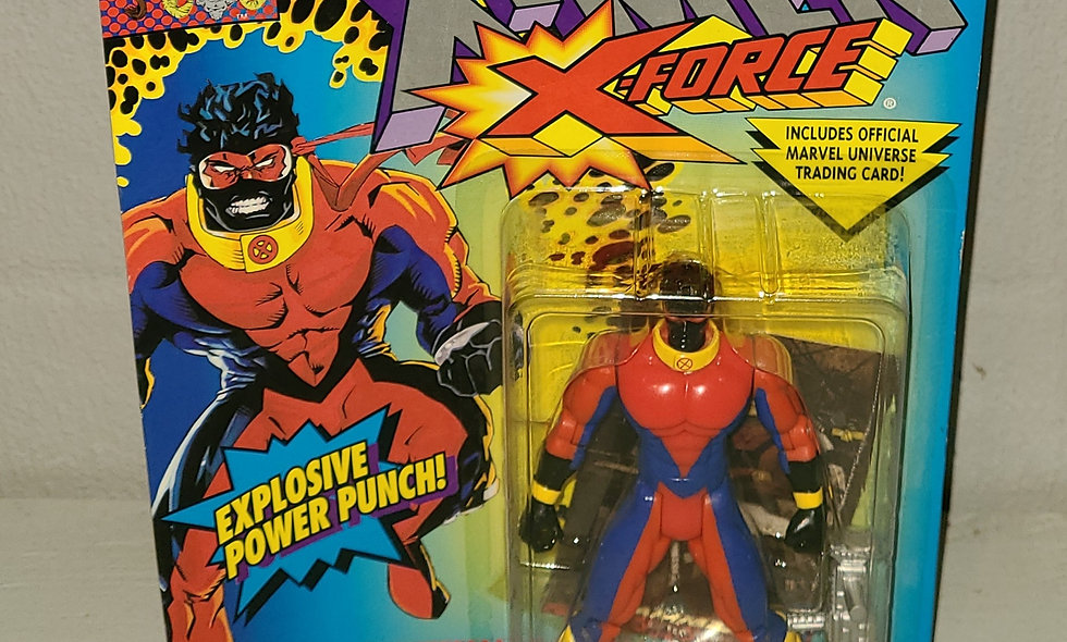 X-Men - X-Force - Sunspot - 1994 Toy Biz
