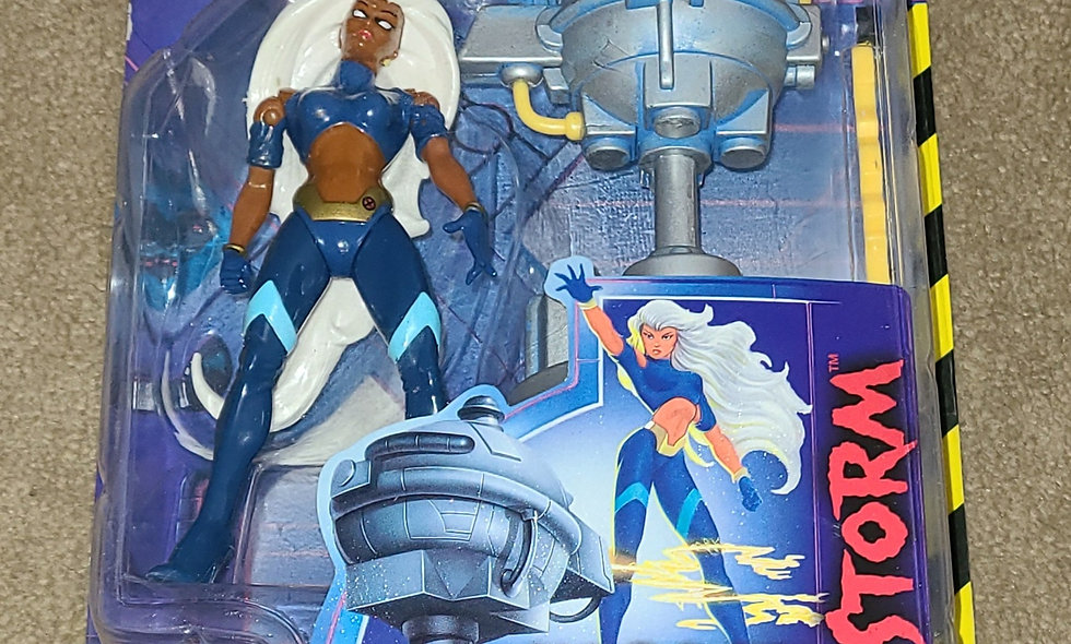 Marvel : Storm : Xmen Robot Fighters : ToyBiz 1997