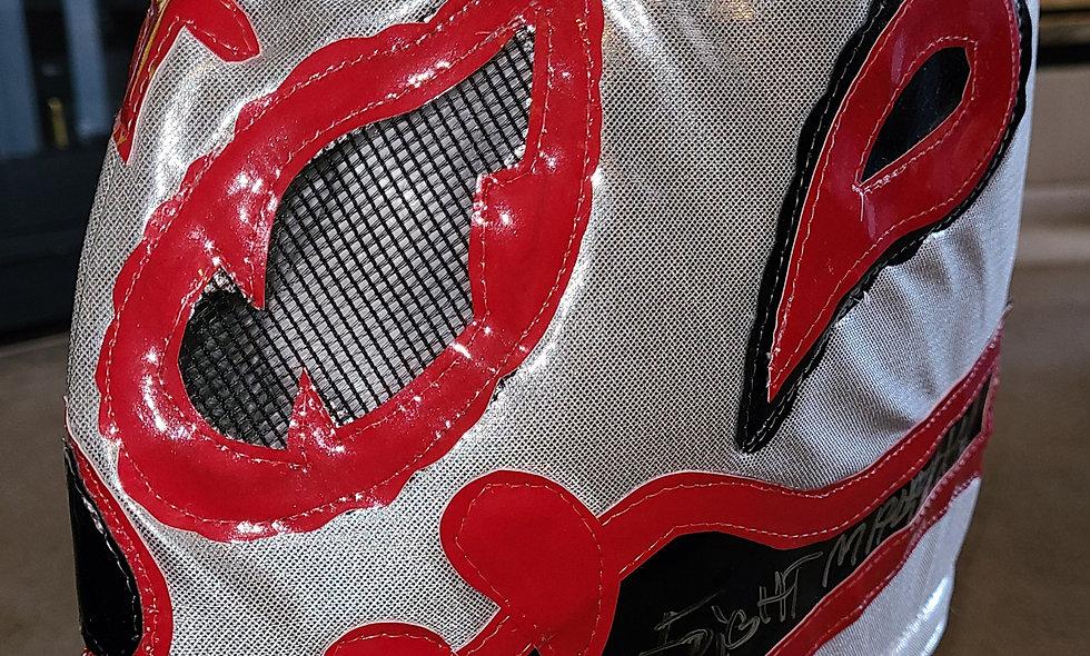 Frightmare - Autographed Lucha Mask  : Chikara Shop