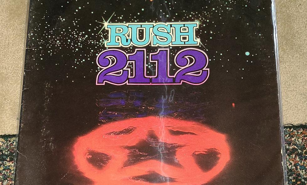 Rush : 2112 - Mercury / 1979 / Poor / Rock
