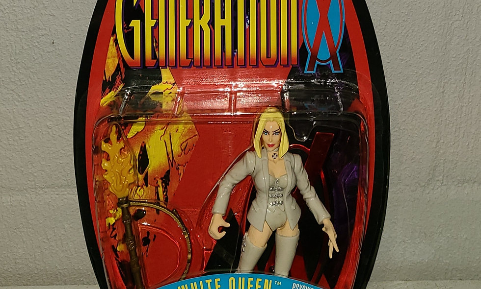 X-Men - Generation X - White Queen - 1996 Toy Biz