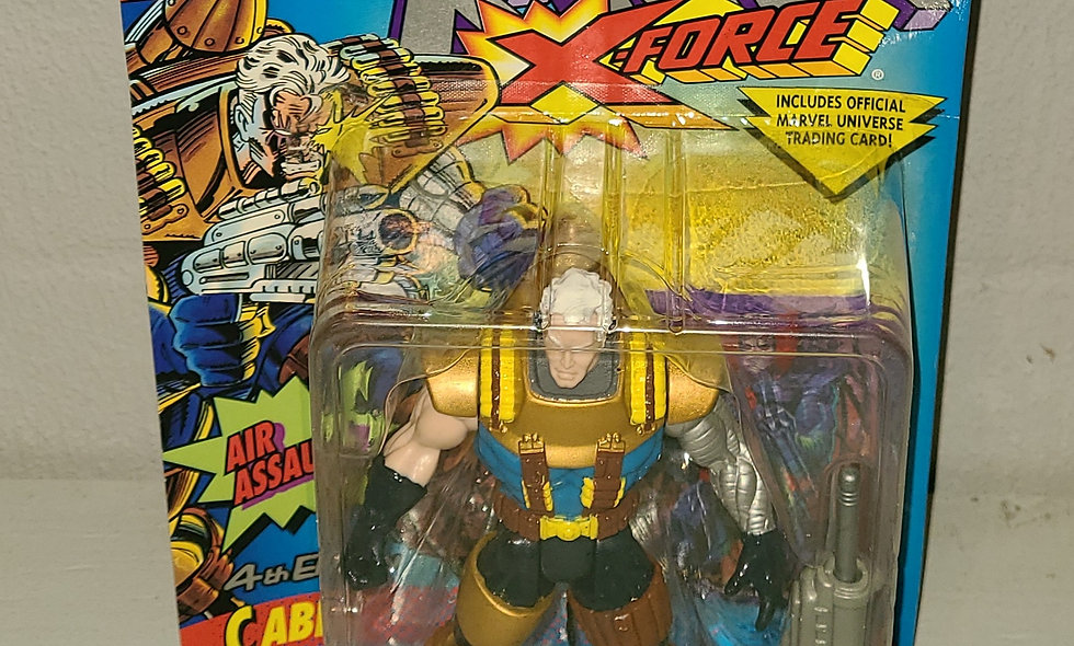 X-Men - X-Force - Cable (4th Edition) - 1994 Toy Biz