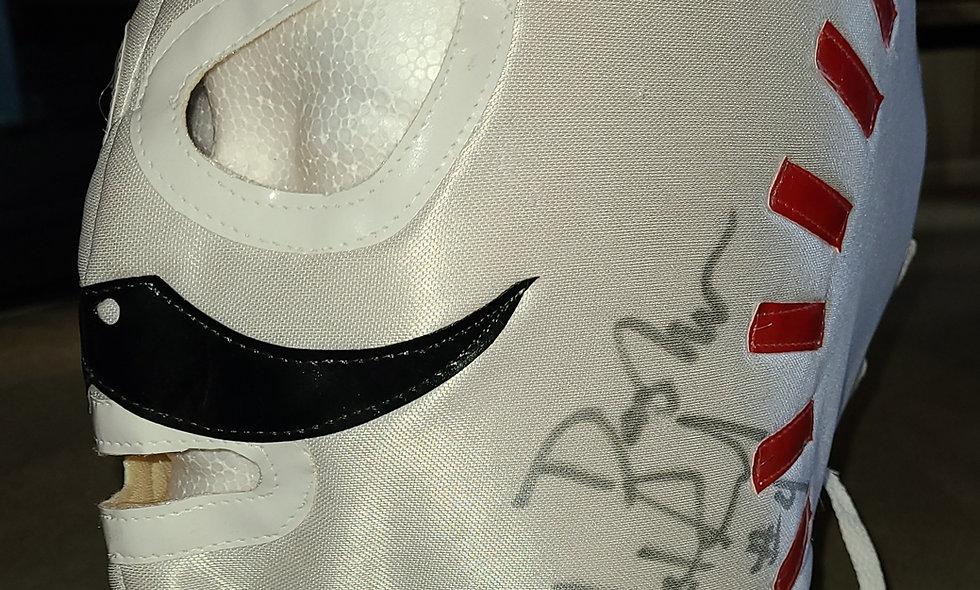 Dasher Hatfield - Autographed Lucha Mask  : Chikara Shop