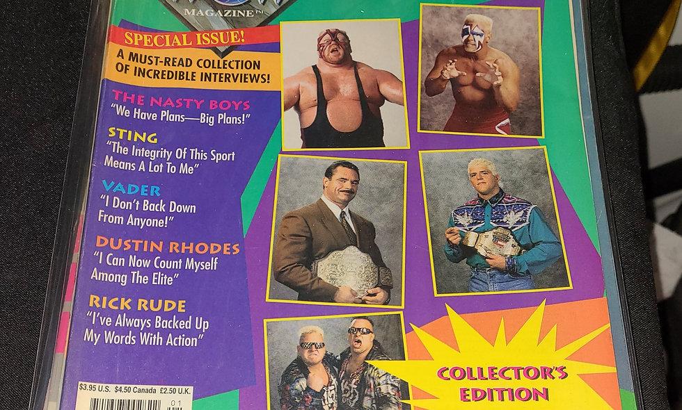 WCW Magazine  :  January 1994