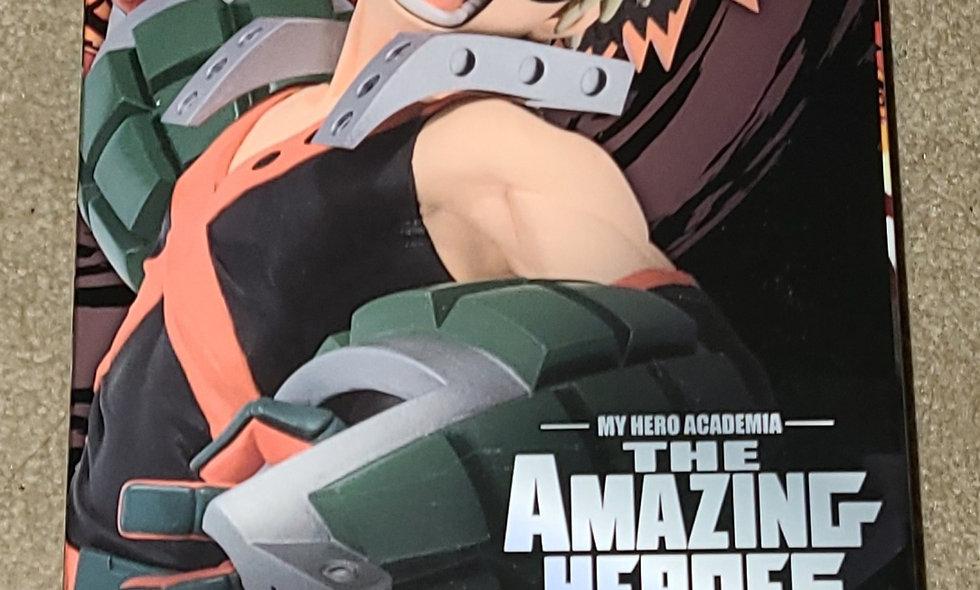 My Hero Academia : Katsuki Bakugo - The Amazing Heroes Vol. 3 : Bandai Statue