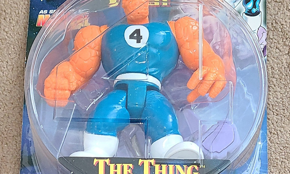 Marvel : The Thing : Fantastic Four : ToyBiz 1996