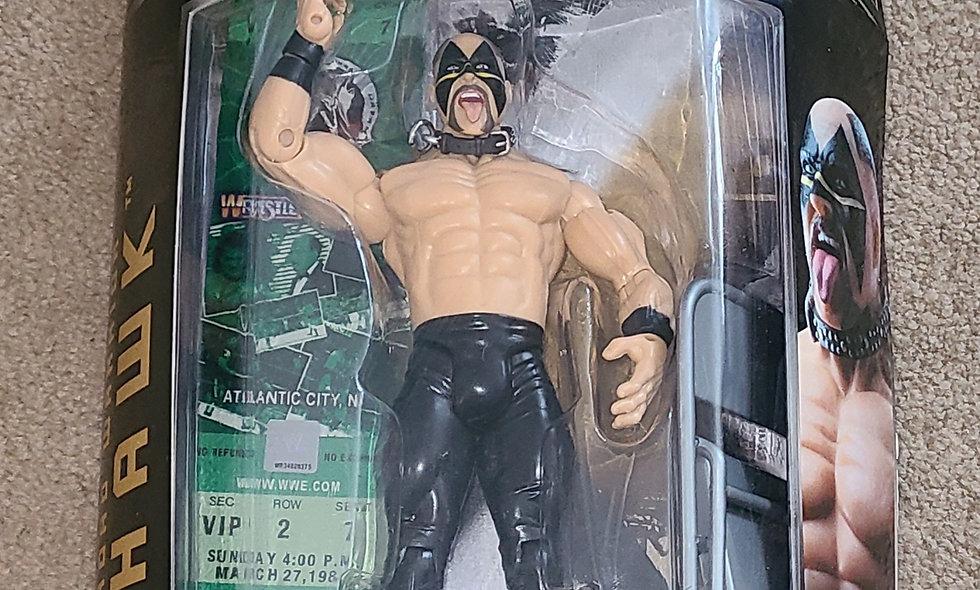 WWE : Classic Superstars : Road Warrior Hawk : Series #9 : Jakks