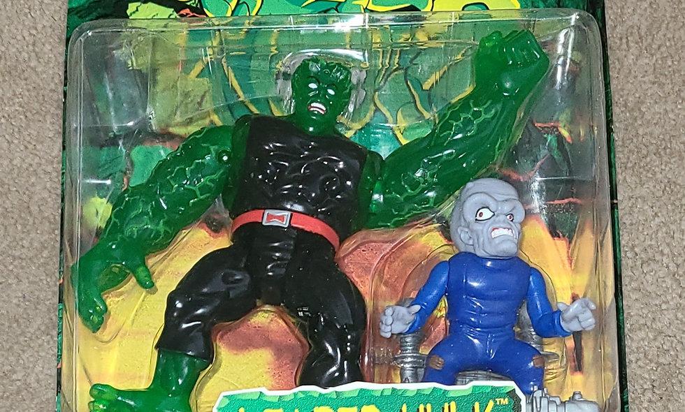 Marvel : Leader - Hulk : Incredible Hulk Outcasts : ToyBiz 1997
