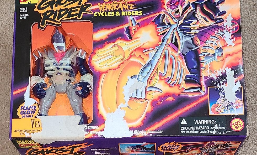 Marvel : Vengeance : Ghost Rider - Spirits Of Vengeance : ToyBiz 1995