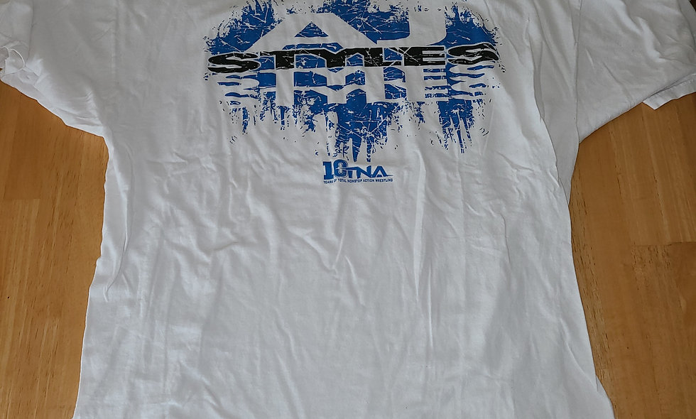 *Preowned  - AJ Styles (TNA) T-Shirt Size 2X