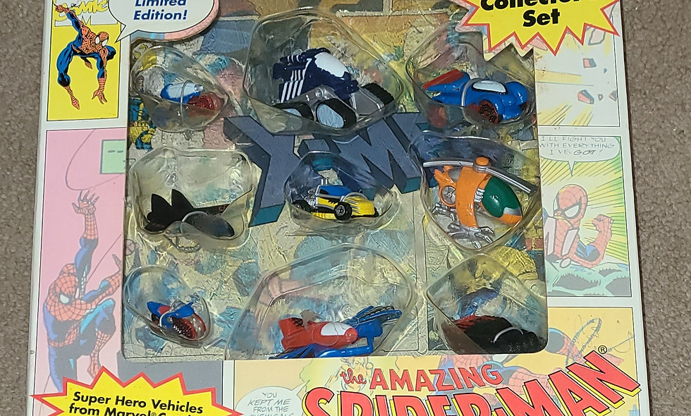 Micro Machines : The Amazing Spiderman : Marvel Collector Set : Galoob 1993