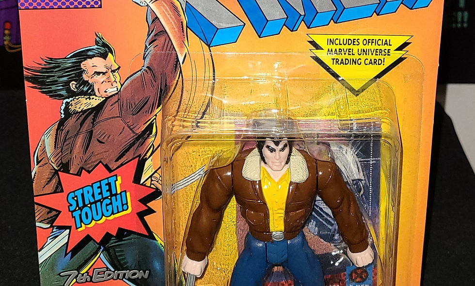Marvel X-Men - Wolverine (7th Edition)  : Street Clothes - ToyBiz