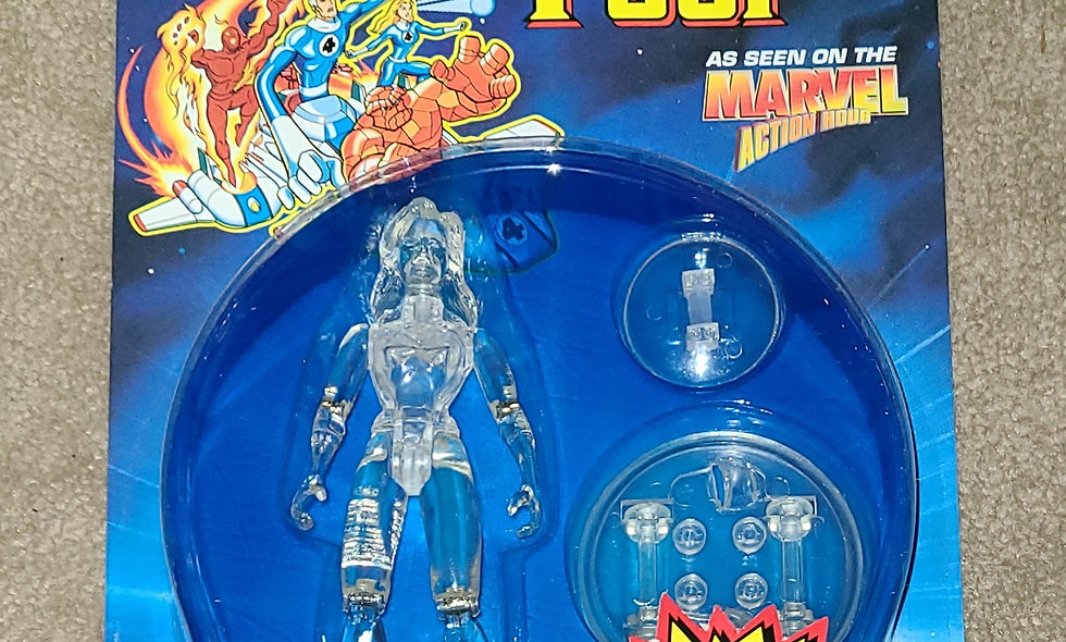Marvel : Invisible Woman (Invisible) : Fantastic Four : ToyBiz 1995