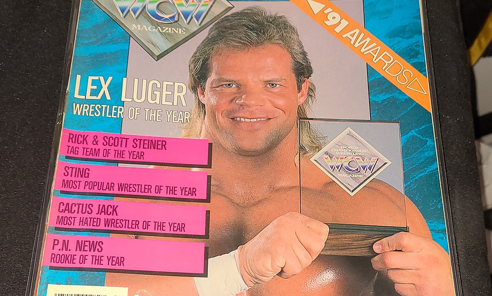 WCW Magazine  :  March 1992