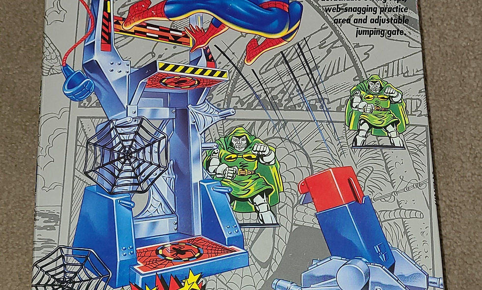 Marvel : Spiderman Attack Tower : ToyBiz 1991
