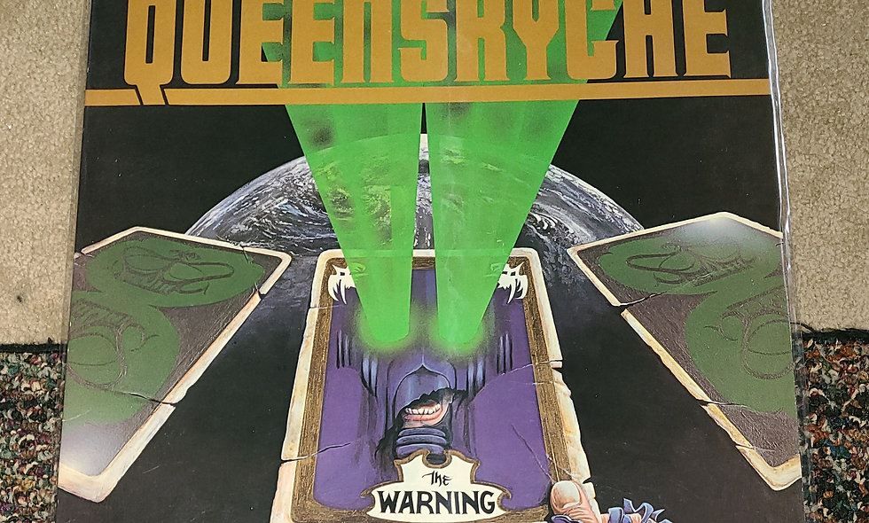Queensryche : The Warning - EMI /1984 / Good - Poor / Metal