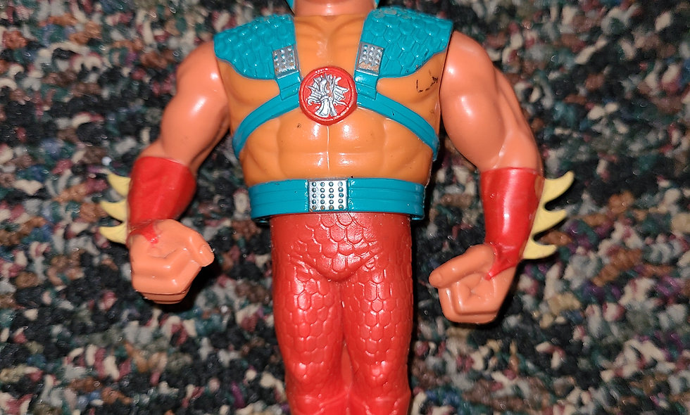 WWF Hasbro - Ricky The Dragon Steamboat  - Action Figure - *Action Works