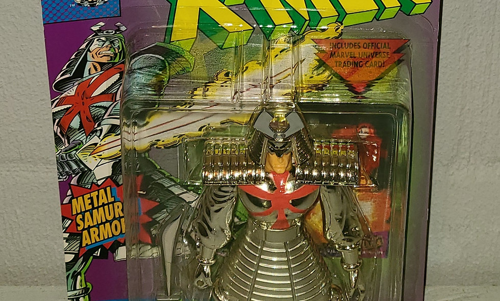 X-Men - Silver Samurai - 1994 Toy Biz
