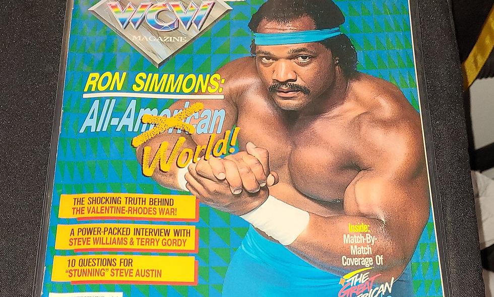 WCW Magazine : November 1992