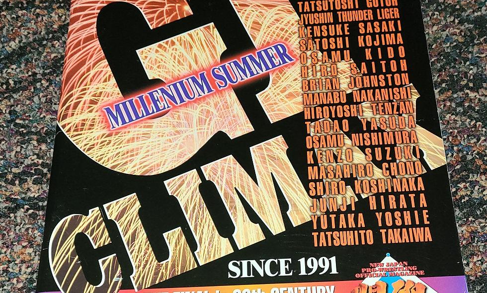 "NJPW - G1 Climax ""Millenium Summer"" 2000 - Vol. 152"
