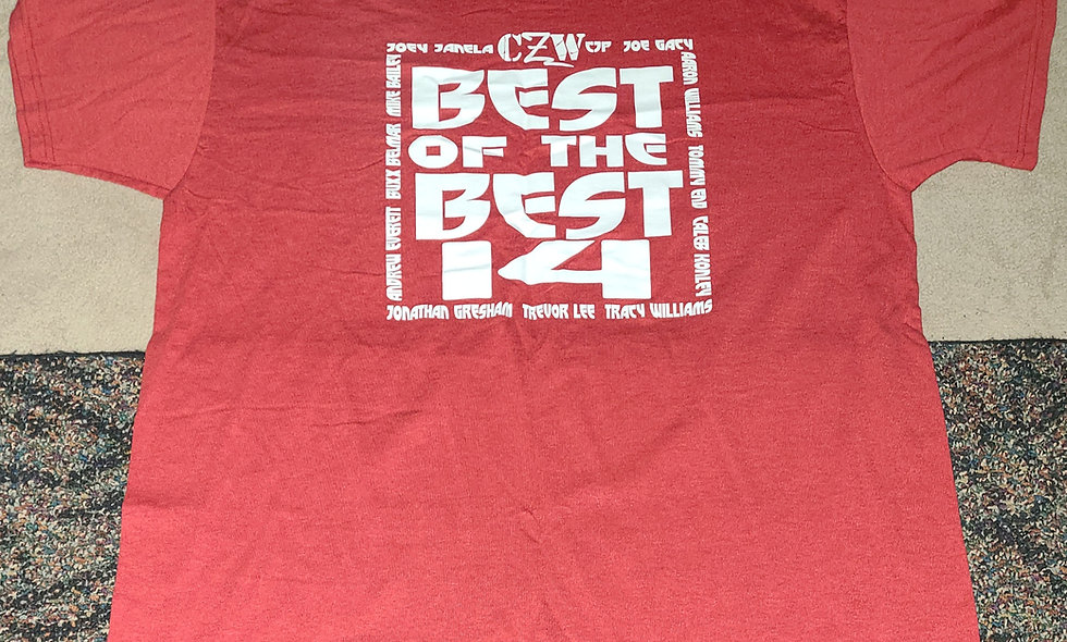 CZW : Best Of The Best 14 - 2x T-Shirt New