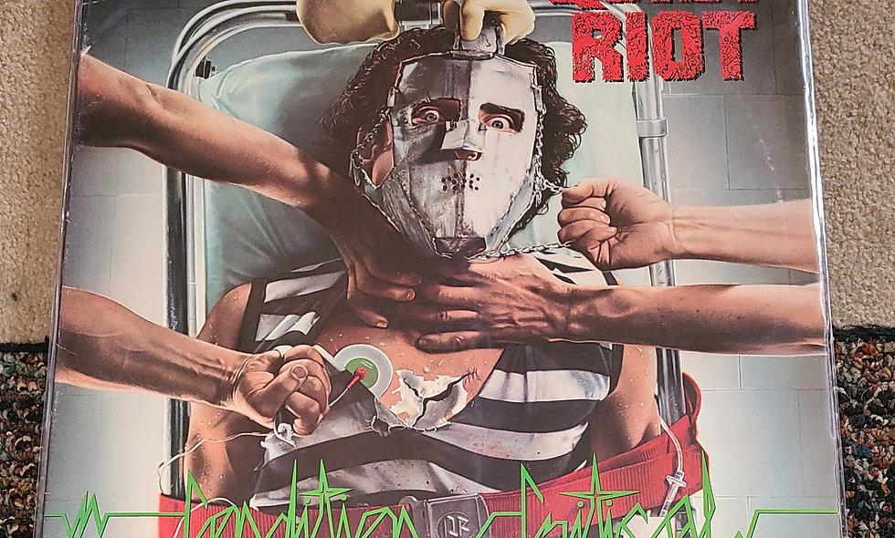 Quiet Riot : Condition Critical - CBS / 1984 / Good / Metal