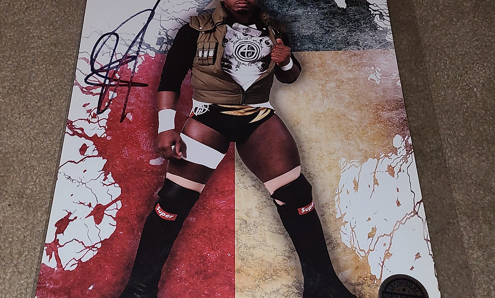 ACH - WWE / ROH - Autographed 8×10