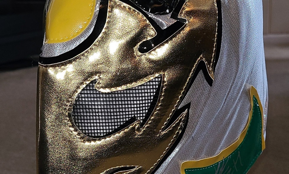 Silver Ant - Autographed Lucha Mask : Chikara Shop