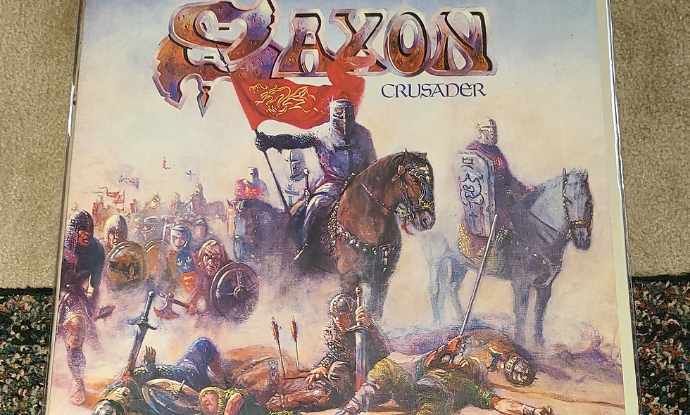 Saxon : Crusader - Carrera / 1984 / Rock / Good